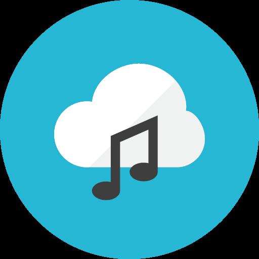 Music icon - Kameleon Free Pack Rounded