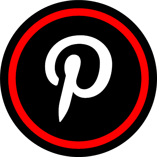 online, pinterest, social, icon, wired, accessible, accessible by computer, connected, electronically connected, hooked up, installed, linked, on stream, on the Internet, operative