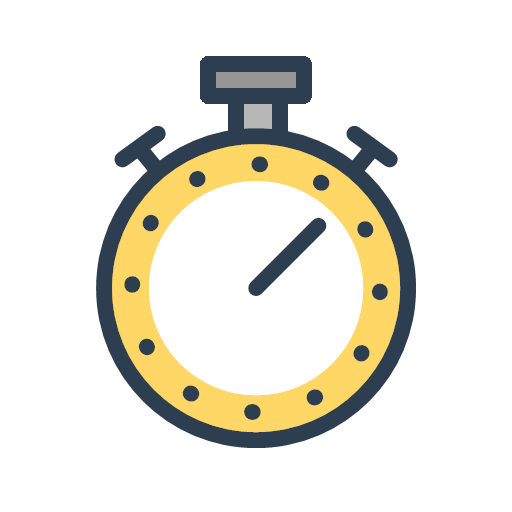 productivity progress resolutions stopwatch time timer icon