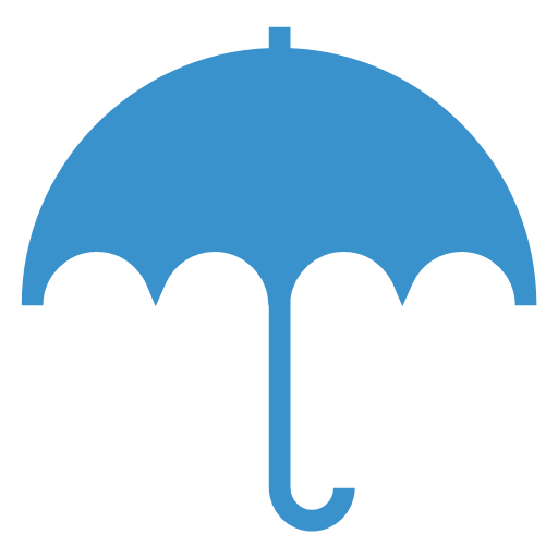 rain, umbrella, weather, icon
