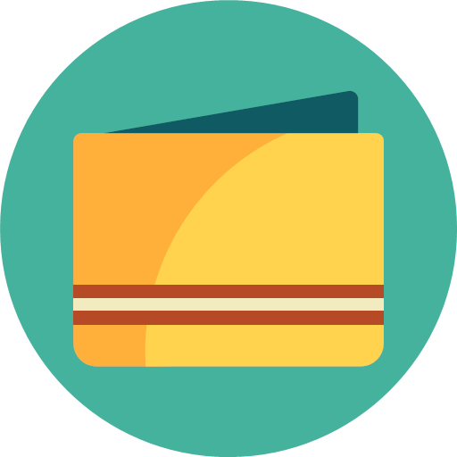 wallet icon mixed rounded wallet icon mixed rounded