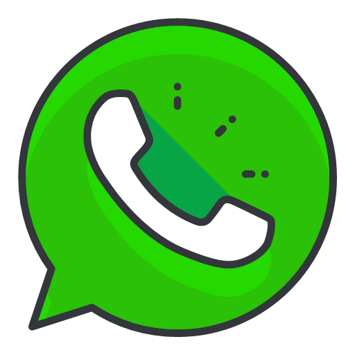 Whatsapp icon - Free Social Media Filled Outline Icons